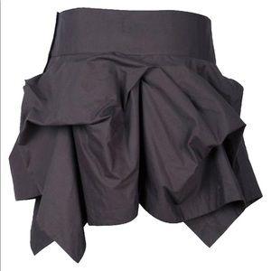 AllSaints Spitalfields asymmetric mini skirt